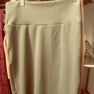 LuLaRoe Cassie Skirt in a teal color